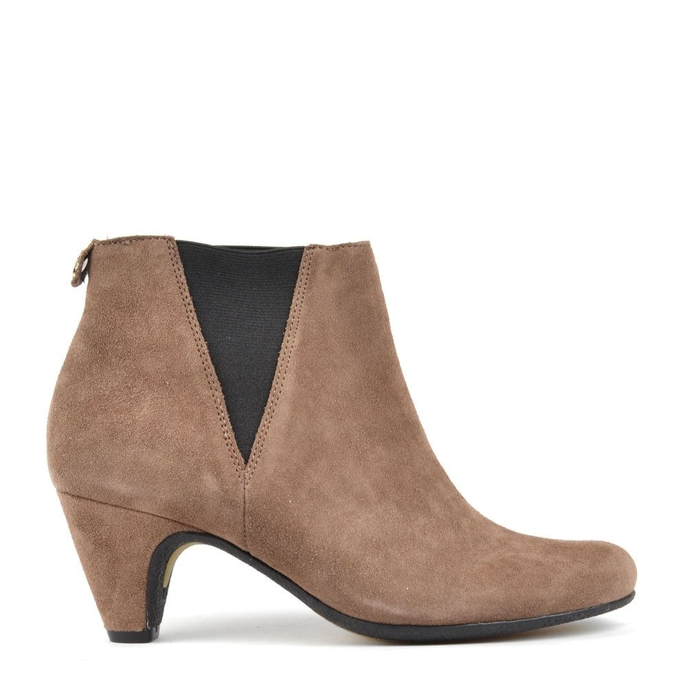 sam edelman morillo brown suede ankle boot