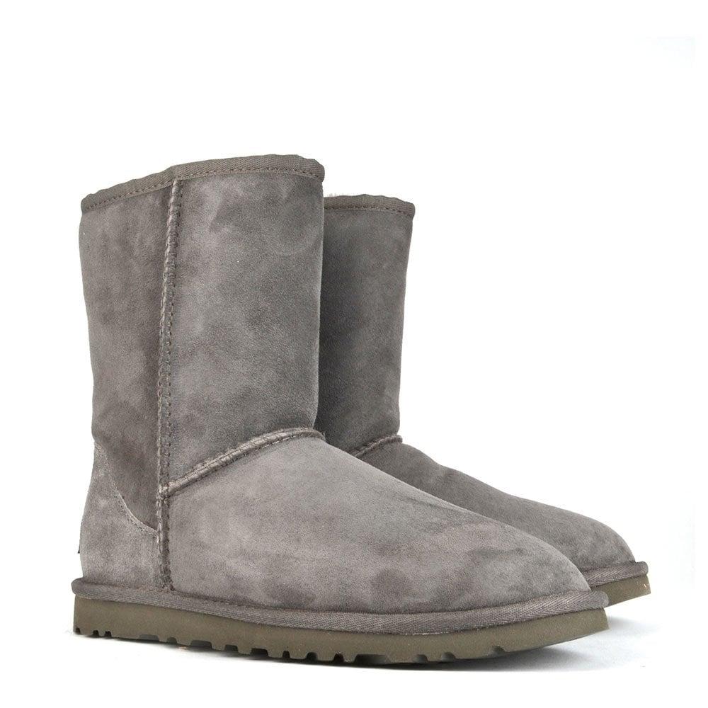 classic short grey ugg boots
