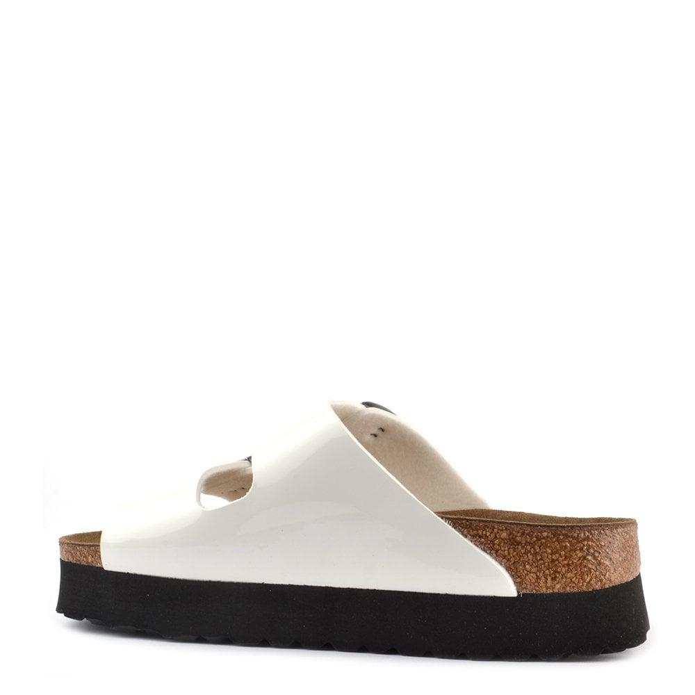 papillio arizona white platform sandal at brand boudoir. Black Bedroom Furniture Sets. Home Design Ideas