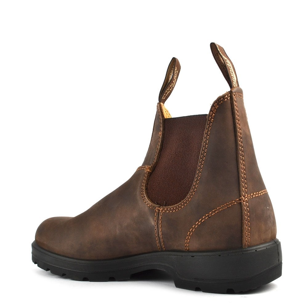 Blundstone 585 Classic Comfort Rustic Brown Leather Boot