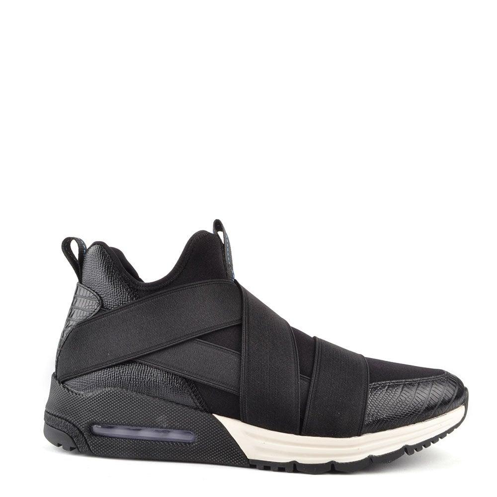 ash footwear mens matrix black trainer ash footwear