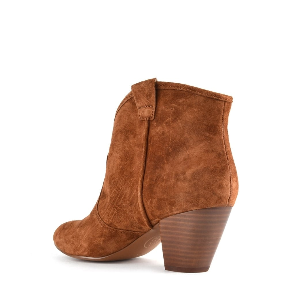 ash footwear jalouse sigaro suede ankle boot buy now