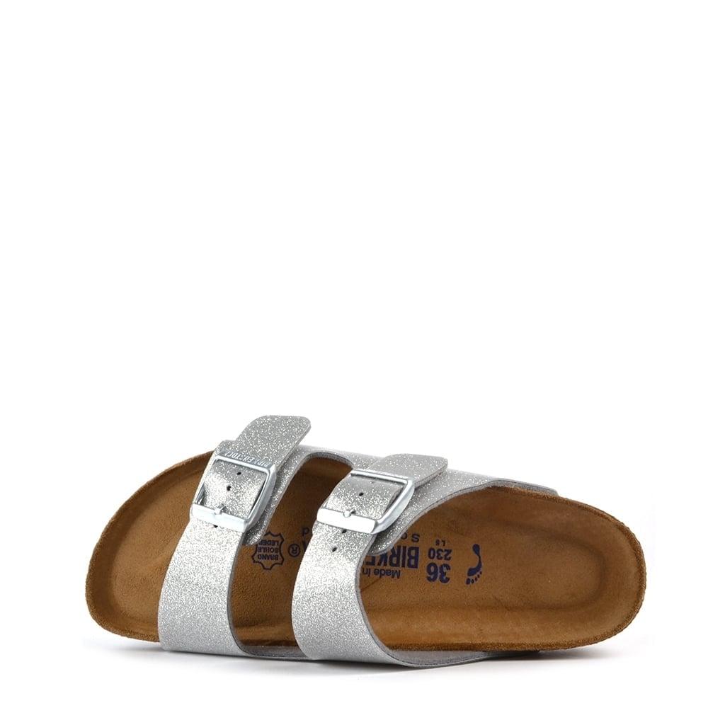 arizona magic galaxy silver two strap sandal. Black Bedroom Furniture Sets. Home Design Ideas