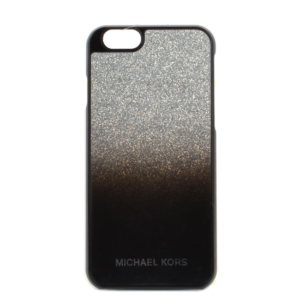 michael by michael kors michael by michael kors silver iphone 6 case. Black Bedroom Furniture Sets. Home Design Ideas