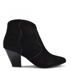 Gang Black Suede Ankle Boot