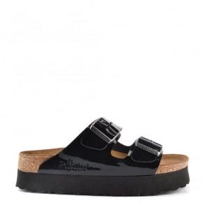 Birkenstock Papillio Arizona Black Platform Sandal