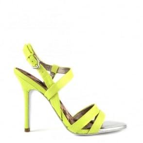 Sam Edelman Abbott Wild Lime Heeled Sandal