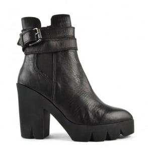 Ash Footwear Tank Black Platform Boot
