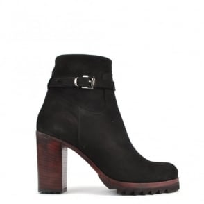Elia B Shoes Jude Black Suede Boot