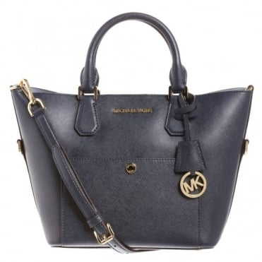 Greenwich Navy Large Tote