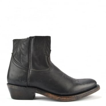 Kut Black Leather Ankle Boot