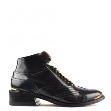Patti 9 Hishine Black Ankle Boot