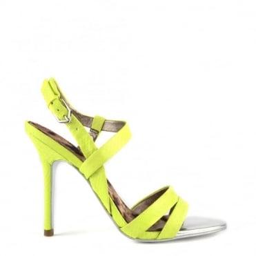 Abbott Wild Lime Heeled Sandal