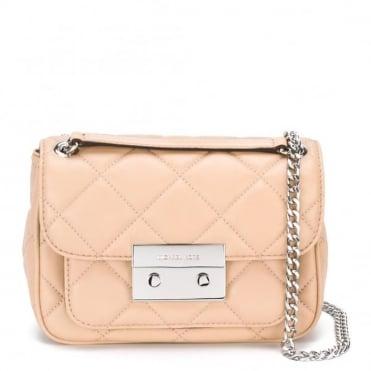 Sloan Blush Quilted Shoulder Flap Bag