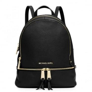 Rhea Black Small Back Pack