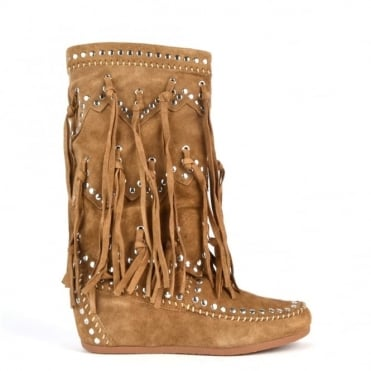 Shilo Wilde Suede Wedge Boot