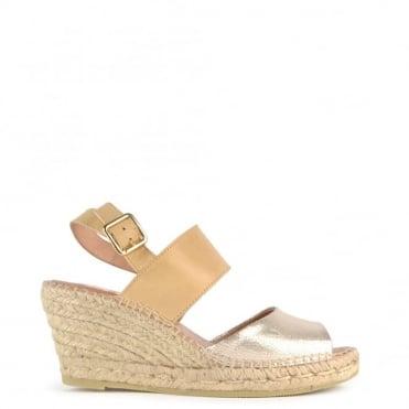 Basic Platine Wedge Espadrille Sandal