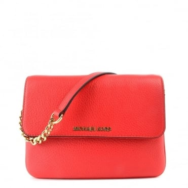 Bedford Coral Double Gusset Cross Body Bag