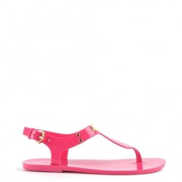MK Plate Raspberry Jelly Sandal