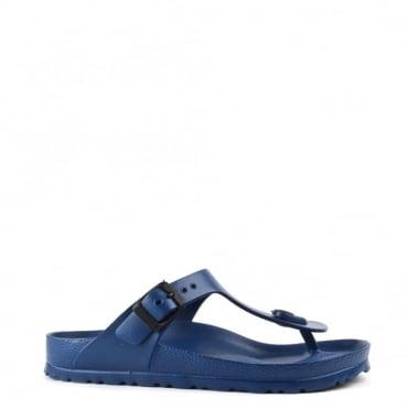 Gizeh Navy Rubber Thong Sandal