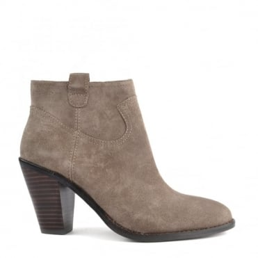 Ivana Stone Suede Ankle Boot