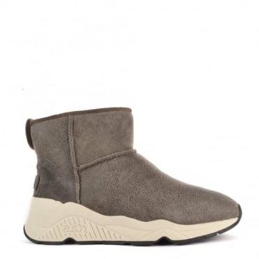 Miko Topo 'Brown' Faux Fur Lining Boot