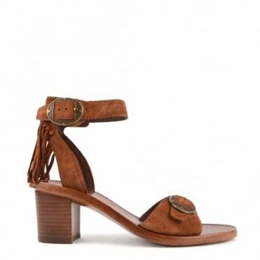 Pepper Sigaro Fringe Heeled Sandal