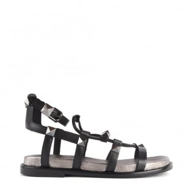 Magnum Black and Piombo Sandal