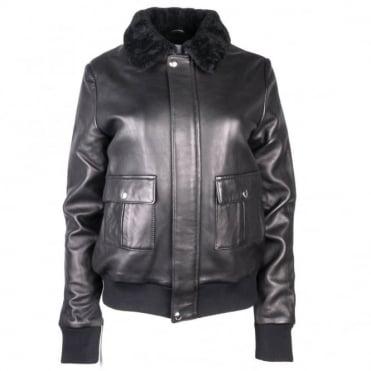 Studio Paris Vital Black Leather Jacket