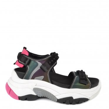 c3d008ee5987 Adapt Multicolour Trainer Sandal. Ash Footwear ...