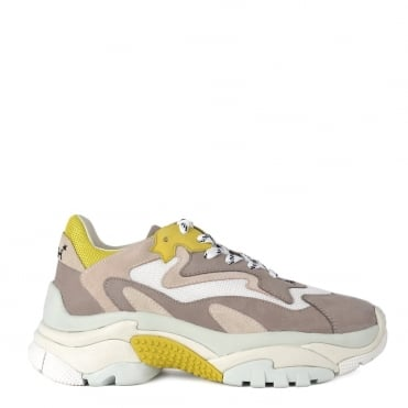 Addict Grey and Yellow Trainer