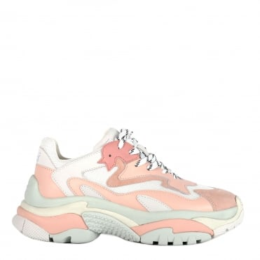 Addict Pink and White Trainer