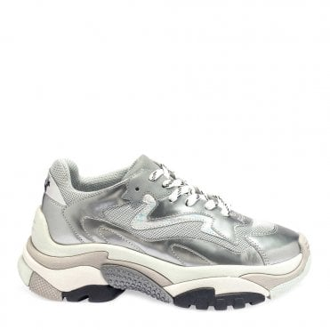 5e72cd06eb6c1 Addict Silver   Grey Sneakers · Ash Footwear ...