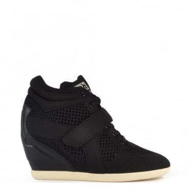 Bebop Knit Black and Neoprene Trainer