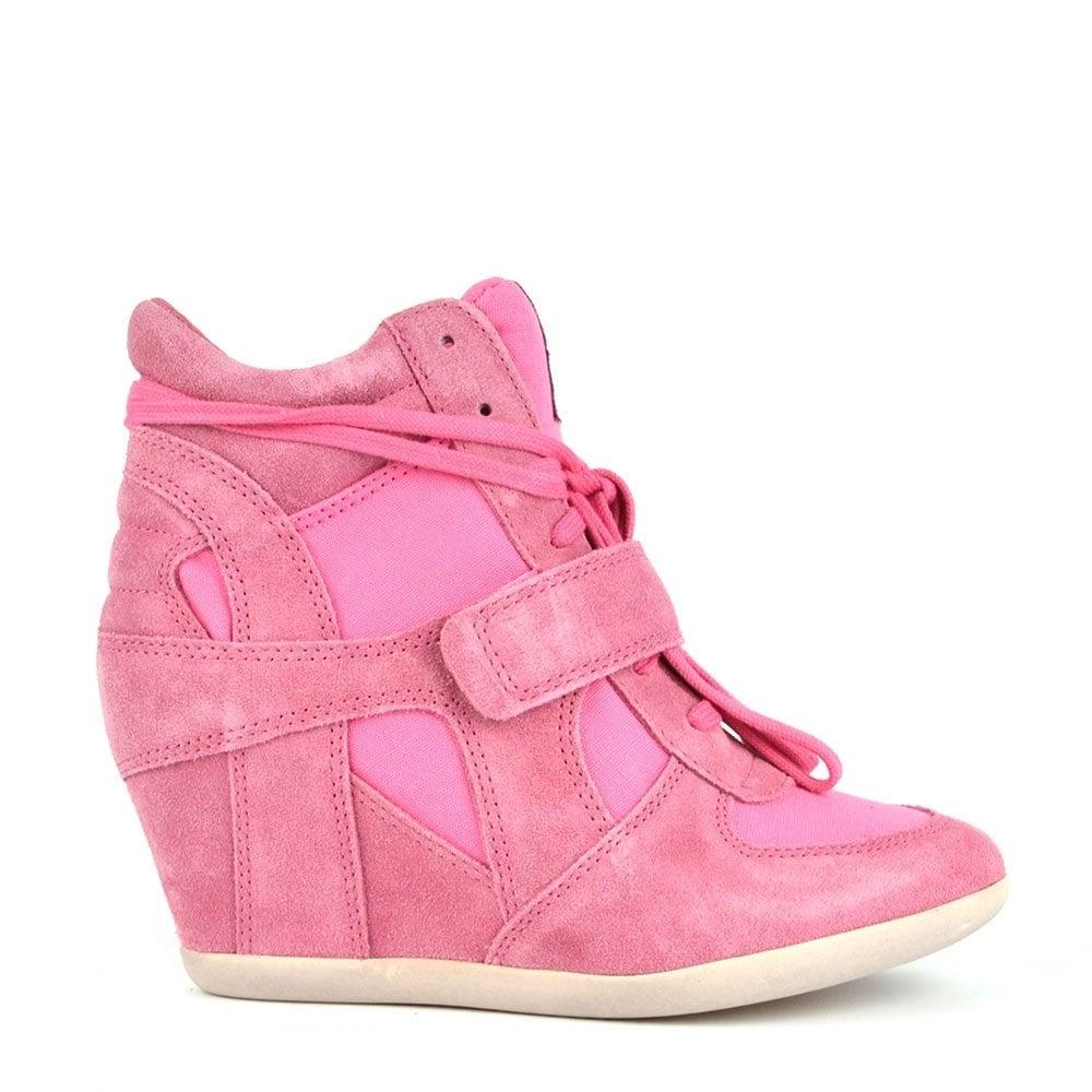 Ash Footwear Bowie Pink Suede and