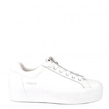 790c93c248e5 Buzz White Leather Platform Trainer. Ash Footwear ...
