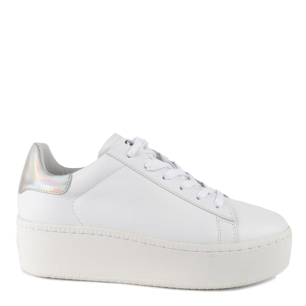 Ash Cult Leather Platform Trainers in