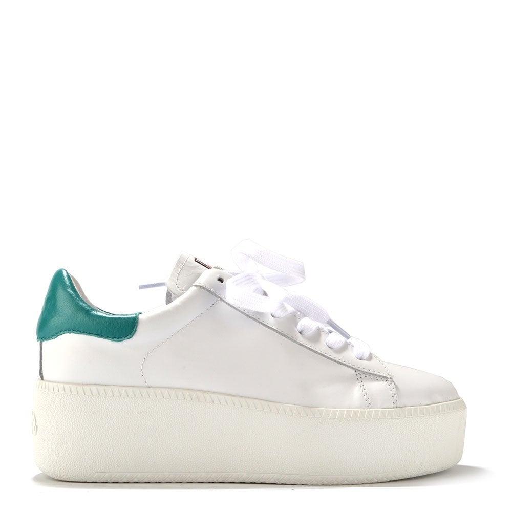f728731ec727 Ash Footwear Cult White Leather Trainer - Women from Brand Boudoir UK