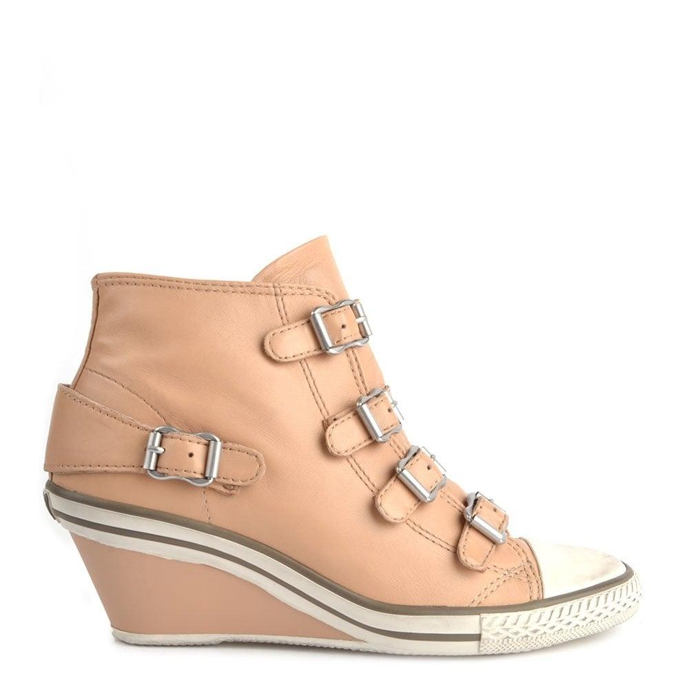 Ash Footwear Genial Clay Leather Low
