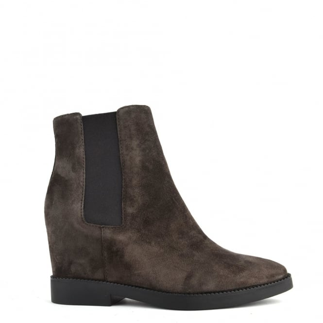 Ash Footwear Gong Bistro 'Brown' Suede Ankle Boot