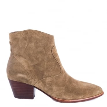 Heidi Bis Wilde Suede Ankle Boot