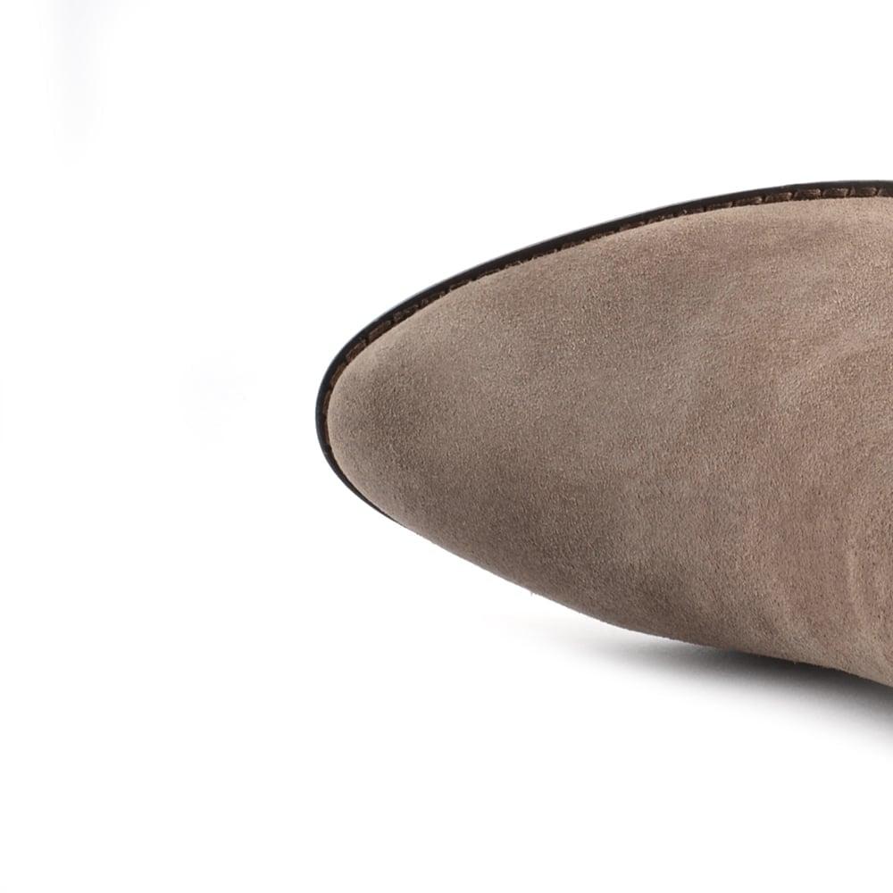 e51e581d46370 Ash Ivana Stone Suede Ankle Boot