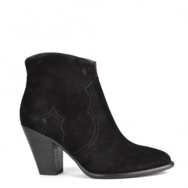 Joe Black Suede Ankle Boot