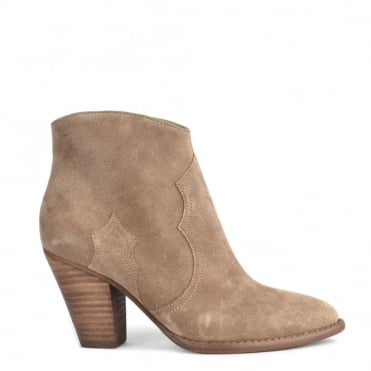 Joe Cocco 'Beige' Suede Ankle Boot