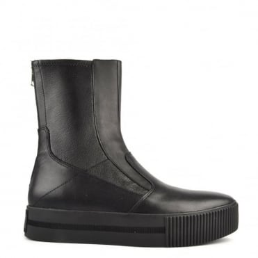 Kick Black Leather Boot
