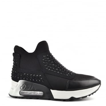 Laser Stone Black Neoprene Gemstone Trainer