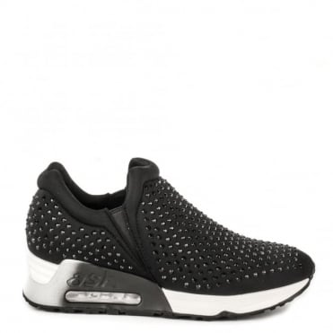 Lifting Black Neoprene and Gemstone Trainer