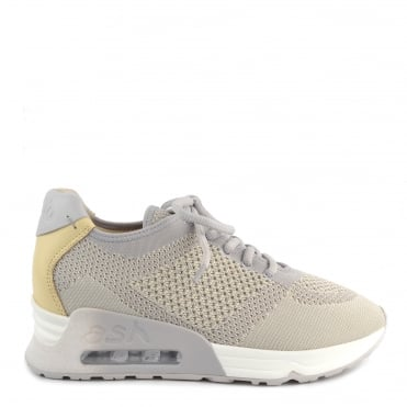 Lucky Knit Pearl and Chic Trainer