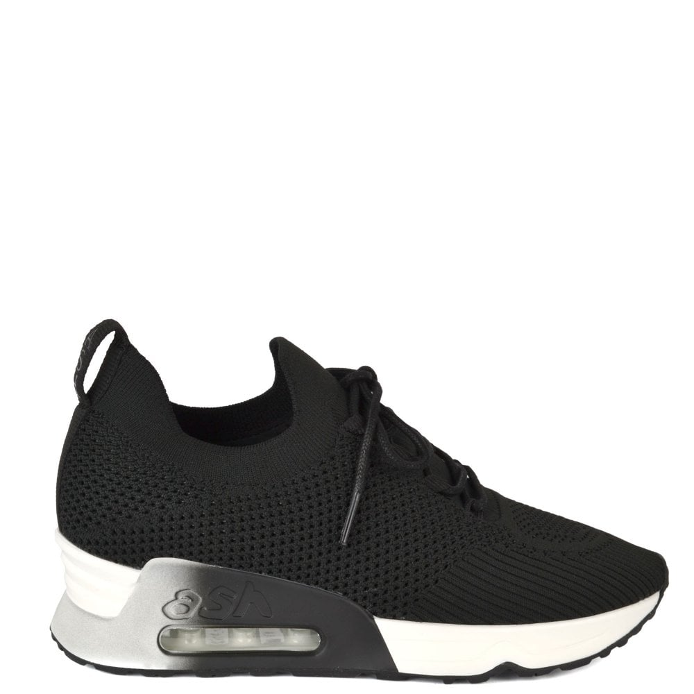 Ash Lunatic Black Knitted Trainers