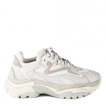 Men's Ash Atomic Sneakers in Off White